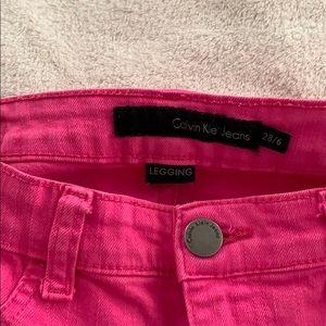 Calvin Klein legging jeans